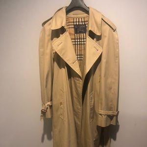 Burberry long Trench - 52R ( US 42)